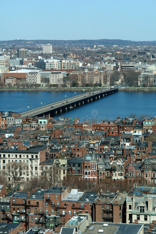 Compartiment arrière de Boston photographie stock libre de droits