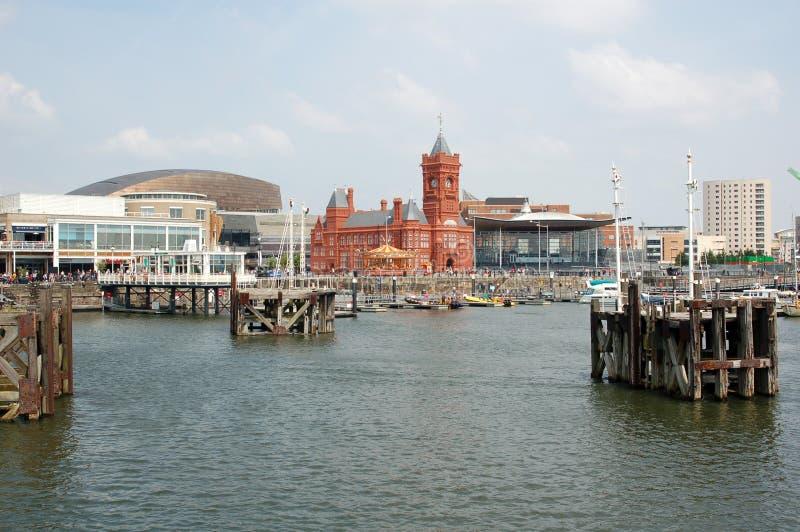 Compartiment de Cardiff images libres de droits
