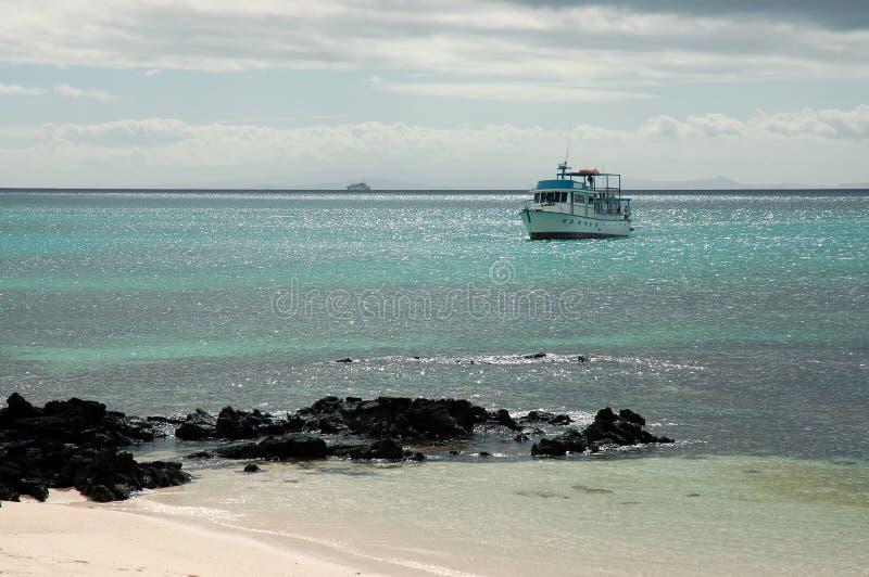Compartiment de Gardner, Galapagos. photographie stock libre de droits