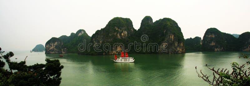 Compartiment de Halong images stock