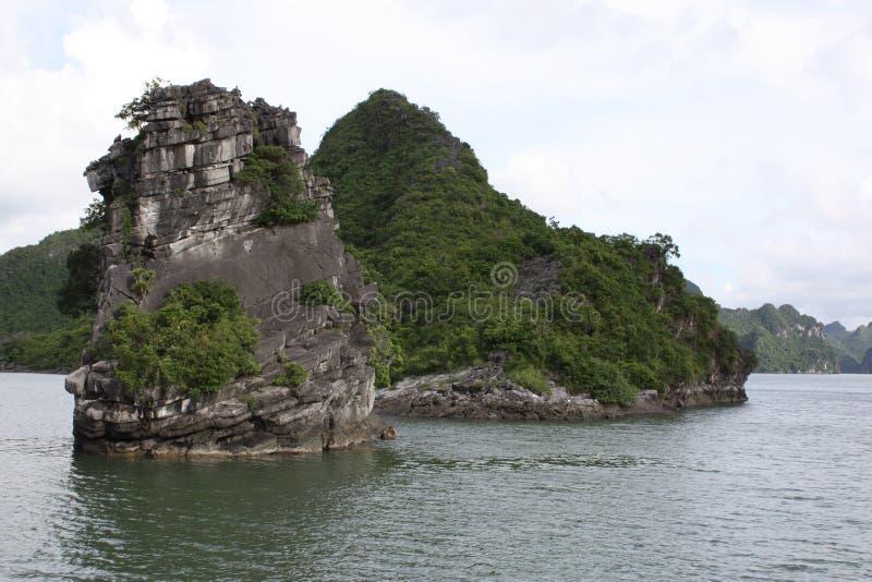 Compartiment de Halong, Vietnam image stock