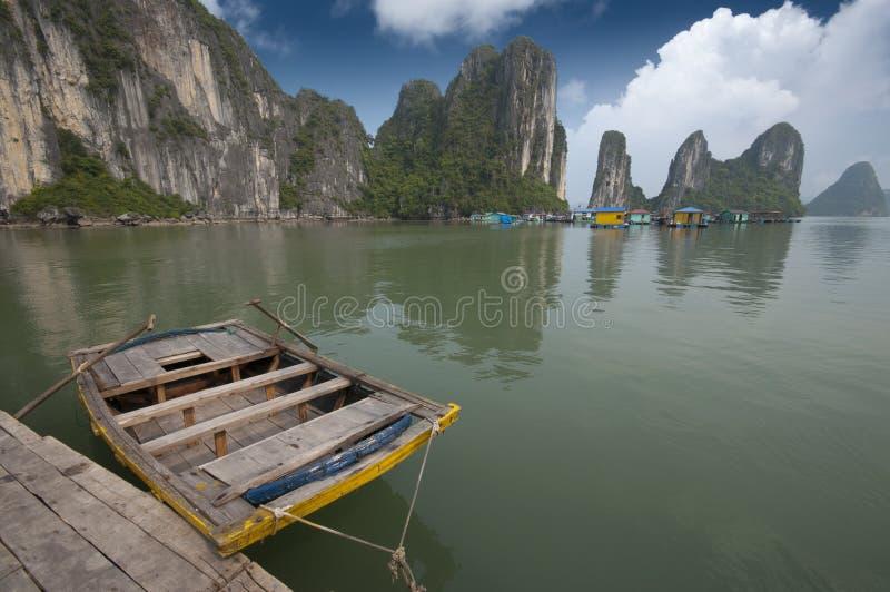 Compartiment de Halong, Vietnam photo libre de droits