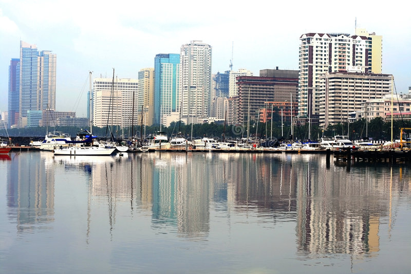 Compartiment de Manille photo stock