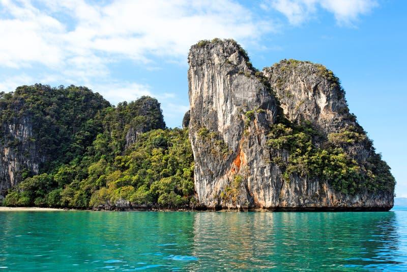 Compartiment de Phang Nga, Thaïlande photo stock