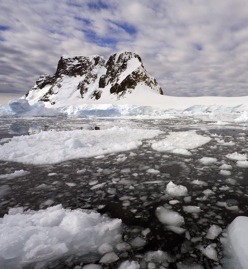 Compartiment de Pleneau - péninsule antarctique - l'Antarctique photos libres de droits