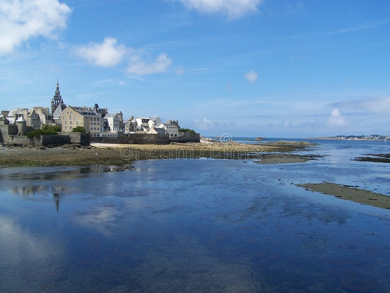 Compartiment de Roscoff, Brittany, France images stock