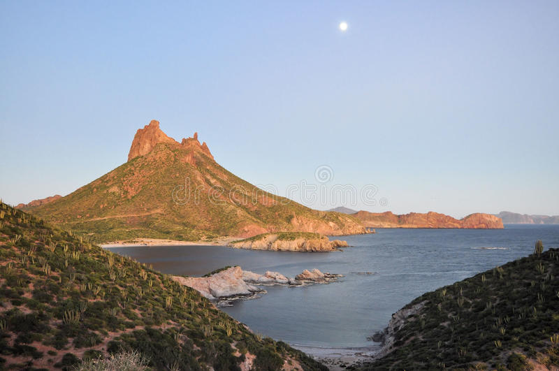 Compartiment de San Carlos, Sonora Mexique photos libres de droits