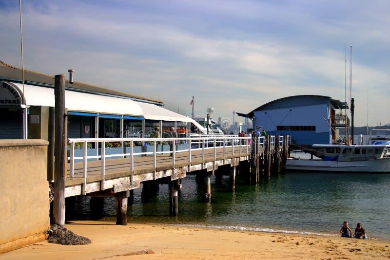 Compartiment de Watsons, NSW, Australie photographie stock