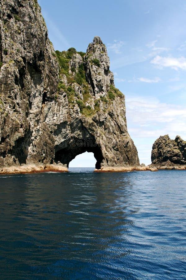 Compartiment des îles, Nouvelle Zélande photos libres de droits