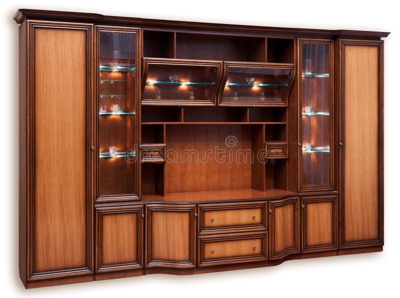 Compartiment en bois image stock