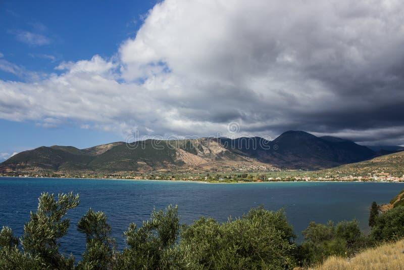 Compartiment en Grèce photographie stock libre de droits