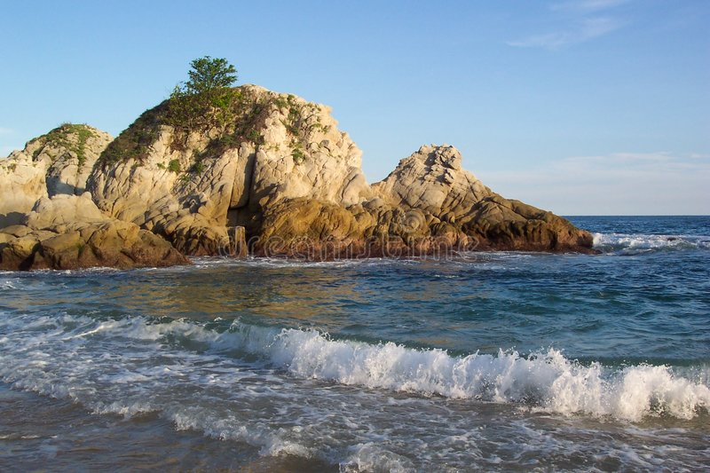 Download Compartiment-Huatulco Mexique De Tangolunda Photo stock - Image du tourisme, tropical: 18746