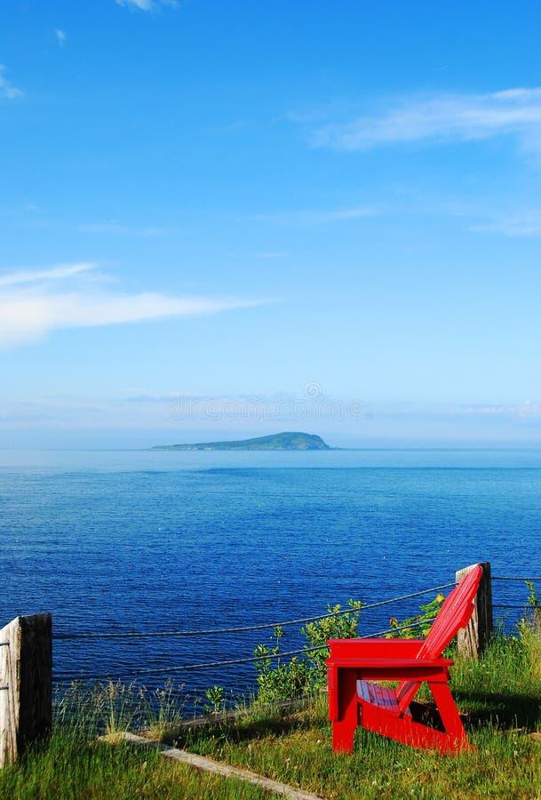 Compartiment la Nouvelle-Écosse d'Ingonish photographie stock