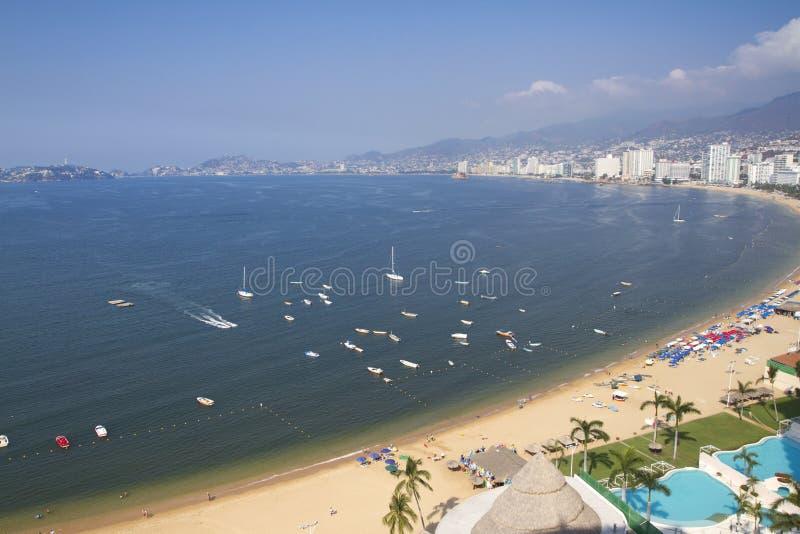 Compartiment Mexique d'Acapulco photographie stock