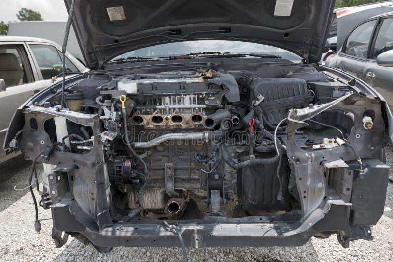 Compartimento de motor imagem de stock royalty free