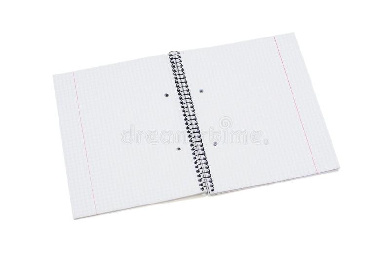 Compartimentos, livro ou catálogo do modelo no fundo branco da tabela imagem de stock royalty free