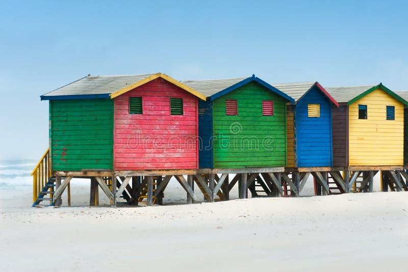 Compartiments de plage image libre de droits