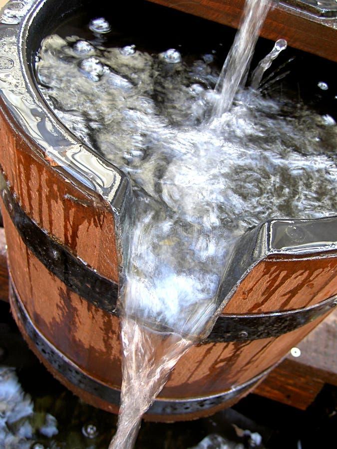 Compartimiento de agua foto de archivo libre de regalías