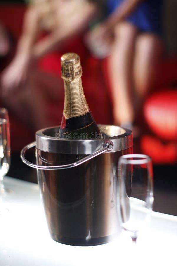 Compartimiento de champán fotos de archivo libres de regalías