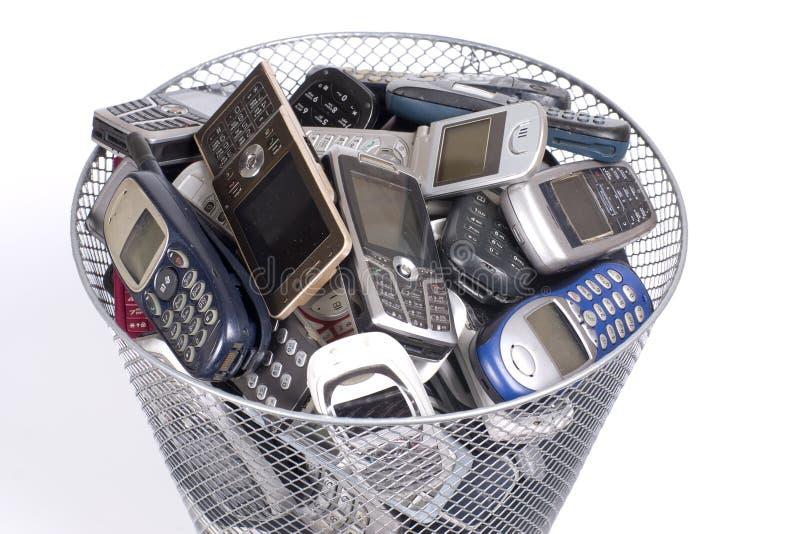 Compartimiento de los desperdicios foto de archivo libre de regalías