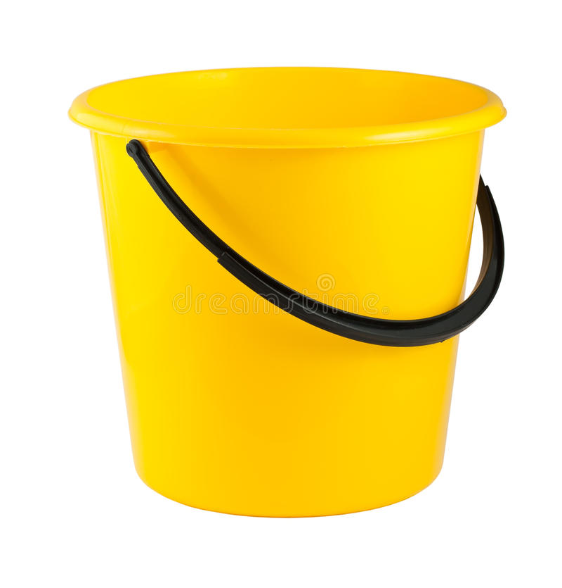 Compartimiento plástico amarillo fotos de archivo