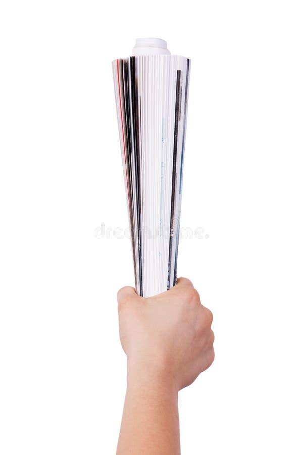 Compartimiento rodado en su mano imagen de archivo libre de regalías