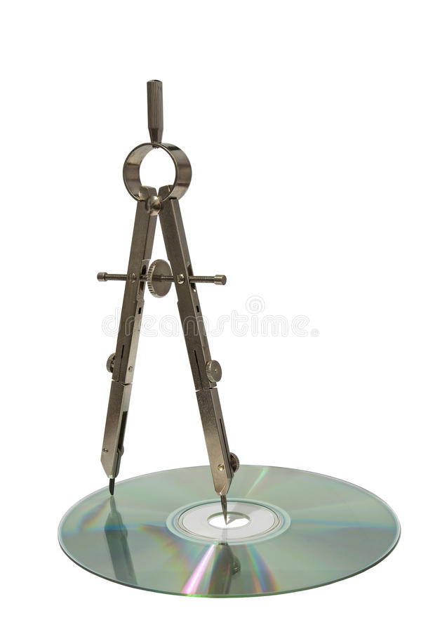 Compas. photographie stock libre de droits