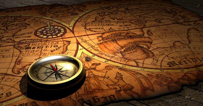 Compas illustration de vecteur