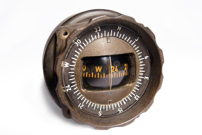Compas d'aviation photographie stock