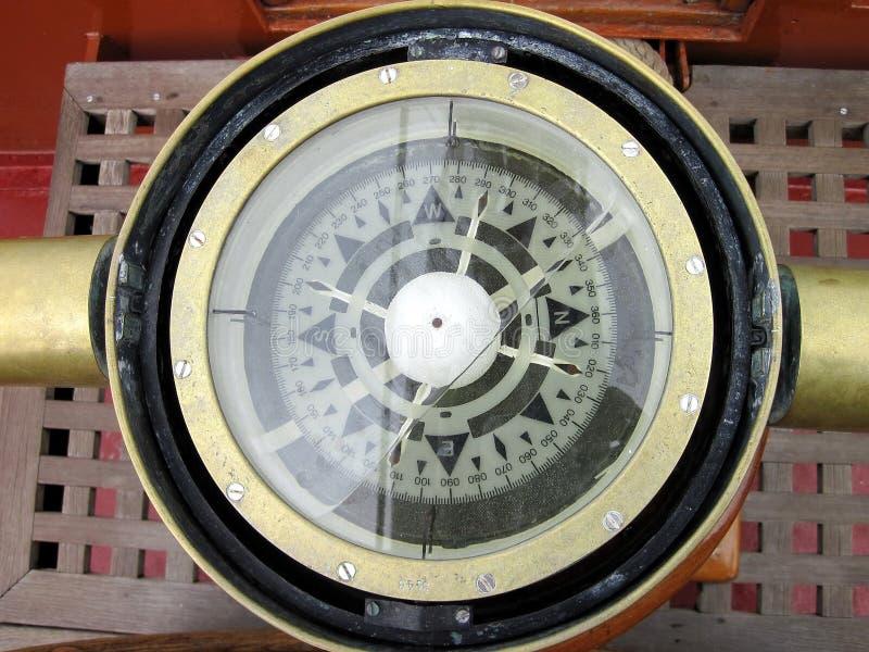 Compas de bateau photos libres de droits