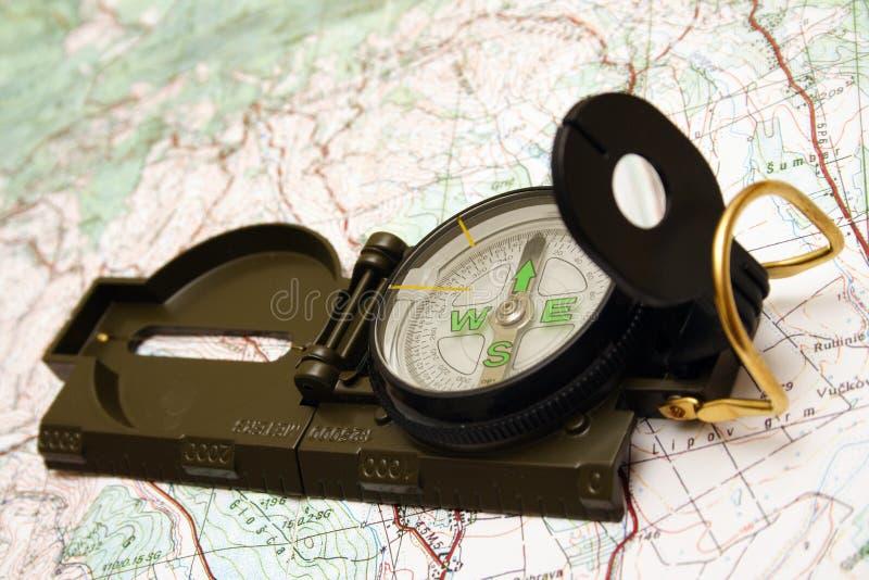 Compas militaire images libres de droits
