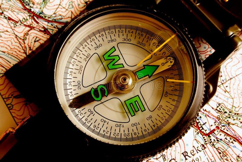Compas militaire photo stock