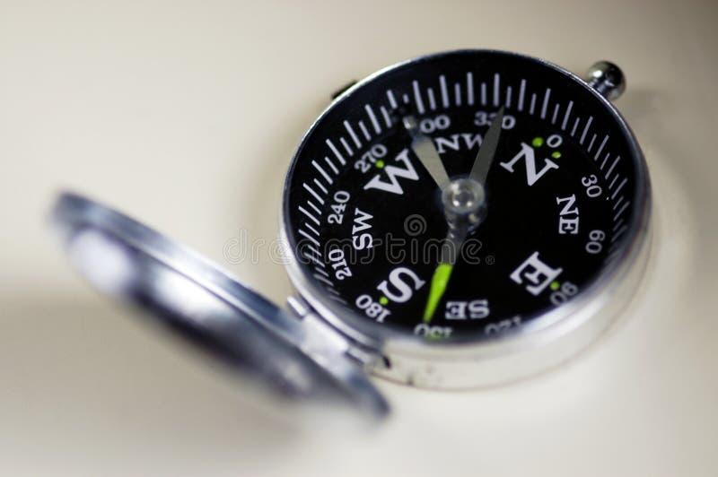 Compas traditionnel de poche images libres de droits