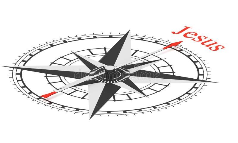 CompasAccuracy ilustração royalty free