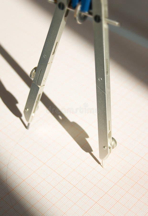 Compases: estrategia y diseño foto de archivo libre de regalías