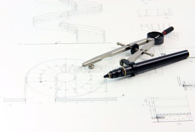 compass конструкции стоковые фотографии rf
