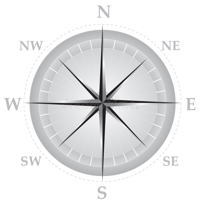 Download Compass 01 stock illustration. Image of explore, magnet - 47145