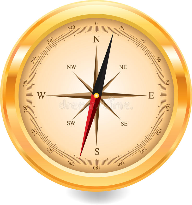 Free Compass Royalty Free Stock Image - 12305746