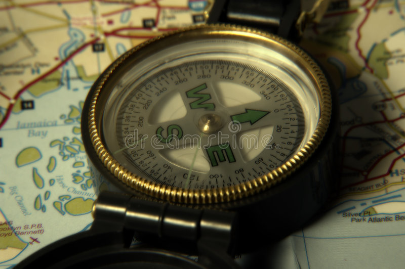 Download Compass stock image. Image of hiking, north, exploration - 17763