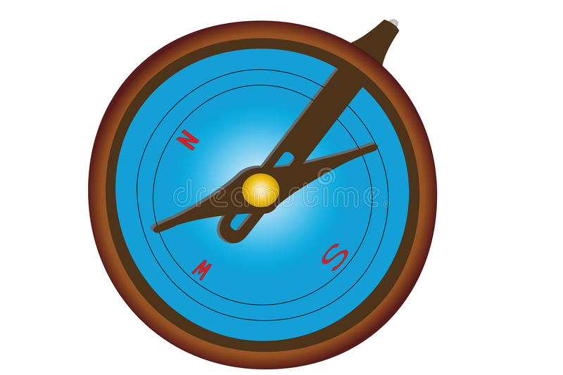 Download Compass stock illustration. Image of image, indicate - 17877451