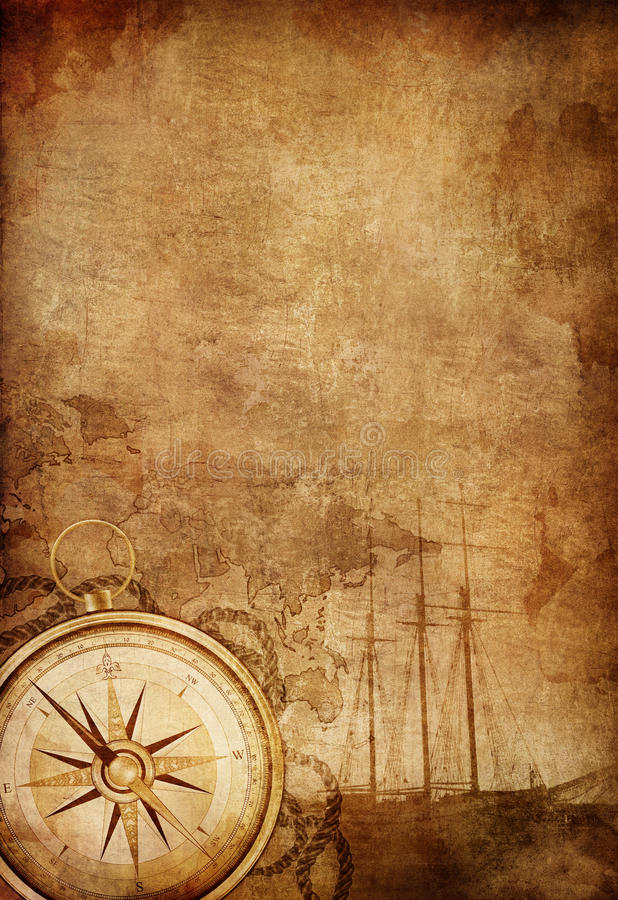 Download Compass stock photo. Image of fashioned, exploration - 19864580