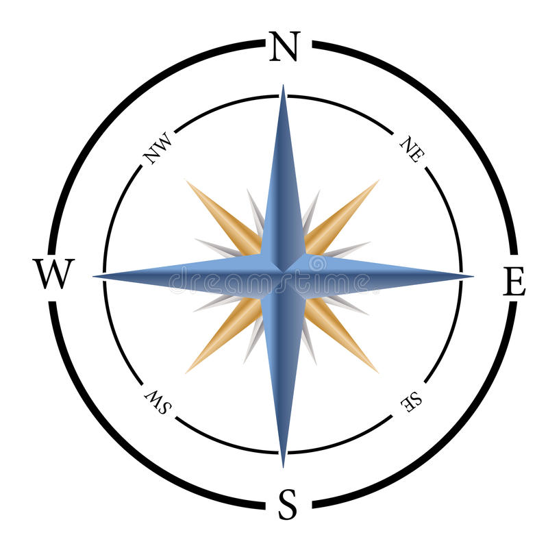 Compass stock illustration