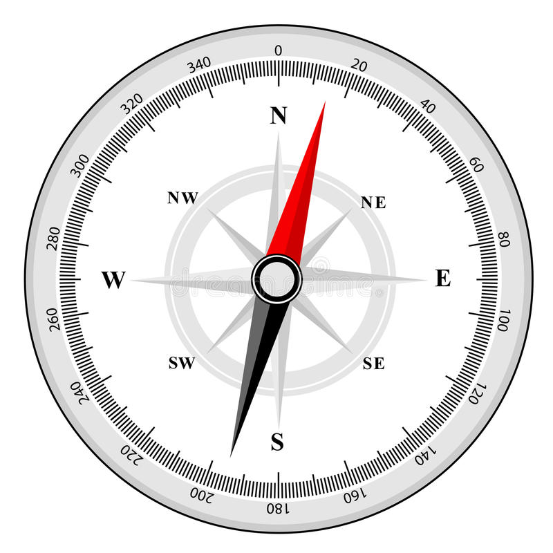 Download Compass stock vector. Image of location, sail, clipart - 21618711