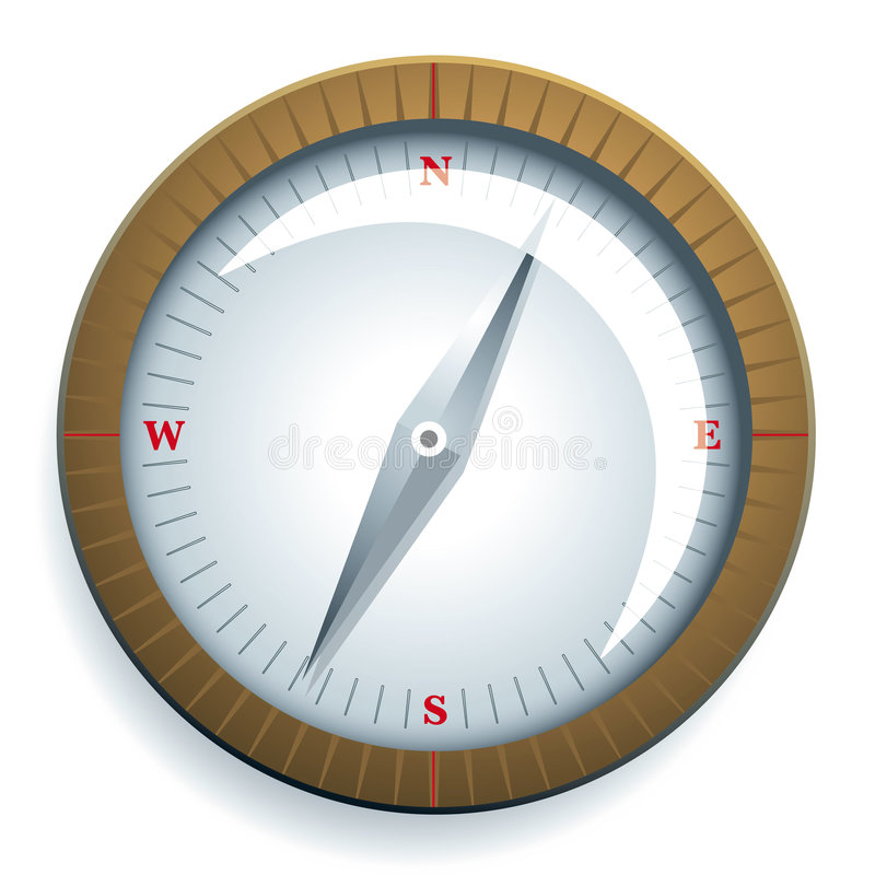 Download Compass Stock Image - Image: 6167491