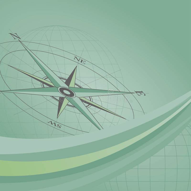 Compass Background vector illustration
