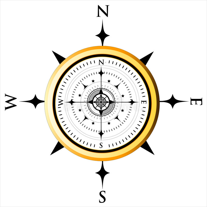 Download Compass Dial stock illustration. Illustration of arrow - 3606823