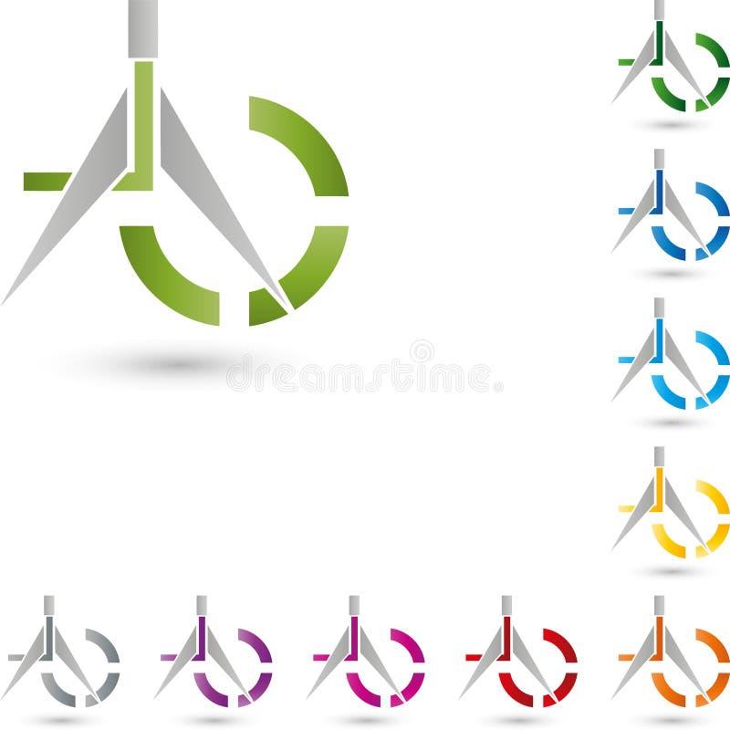 Compass, Drawing Tool And Circle, Tool Logo Stock Vector ...