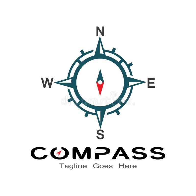 Free Compass Logo, Icon And Symbol. Ilustration Design Royalty Free Stock Image - 160961646