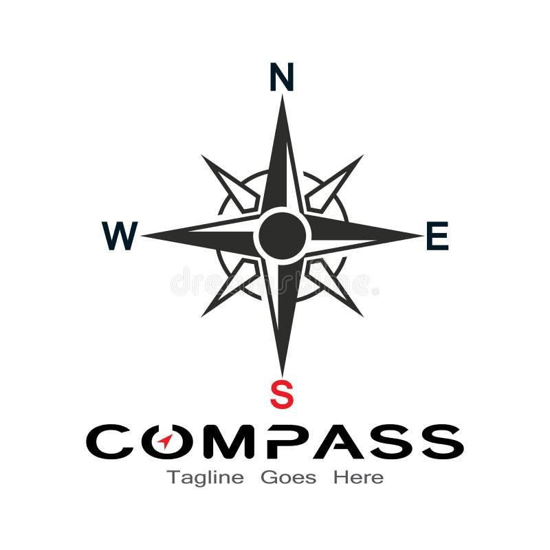 Free Compass Logo, Icon And Symbol. Ilustration Design Royalty Free Stock Photos - 161124408