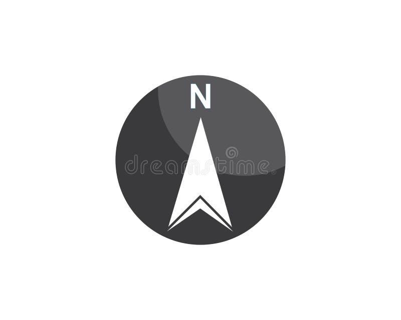 Compass Logo Template vector icon illustration stock illustration